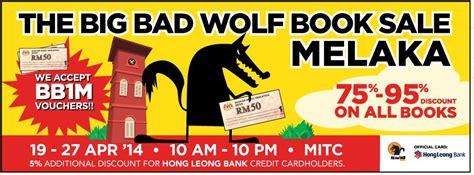 the big bad whaaaat books buku mahal kunjungi big bad wolf di melaka