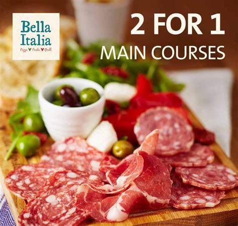 printable vouchers bella italia bella italia 2 for 1 kay spiller pinterest bella