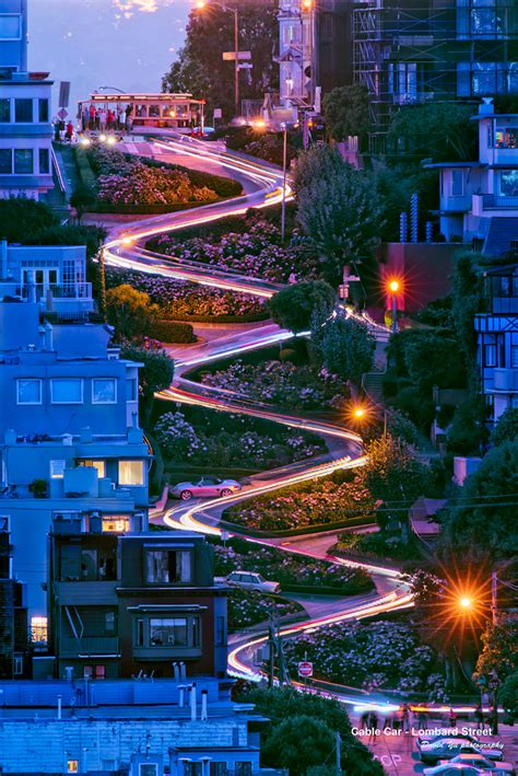 san francisco map lombard cable car lombard the classic view of the one