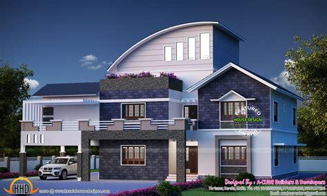 Simple Contemporary Home Design Kerala Home Design » Home Design 2017