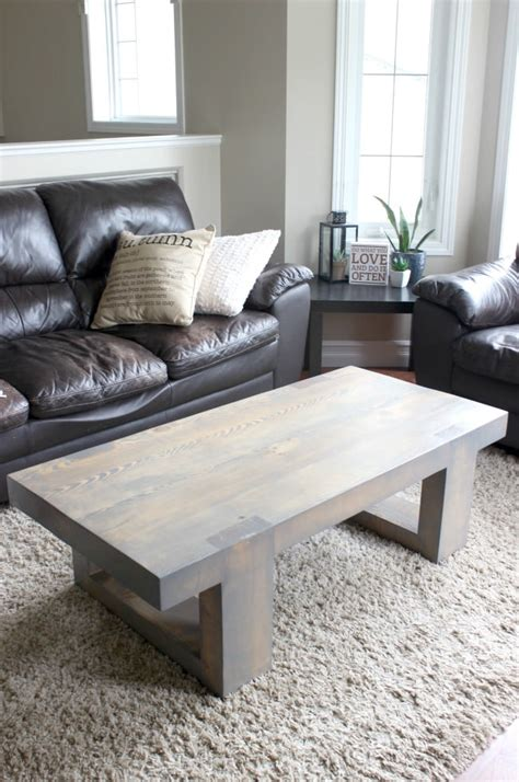 modern coffee table build plans love create celebrate