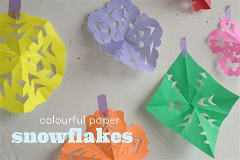 How To Make Simple Snowflakes From Paper - how to make simple paper snowflakes windy friends