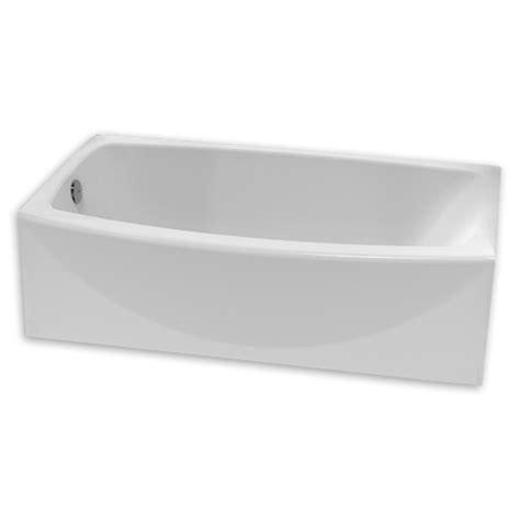 american standard bathtub drain american standard saver 60 inch by 34 inch integral apron