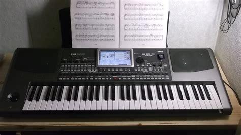 Keyboard Korg Pa900 Baru korg pa900 image 908358 audiofanzine