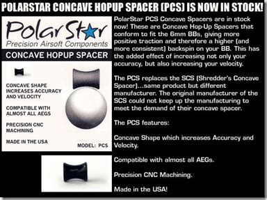 Spartan Spacer polarstar concave spacers at spartan imports