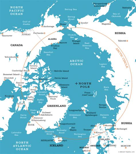 arctic map the arctic circle facts information beautiful world travel guide