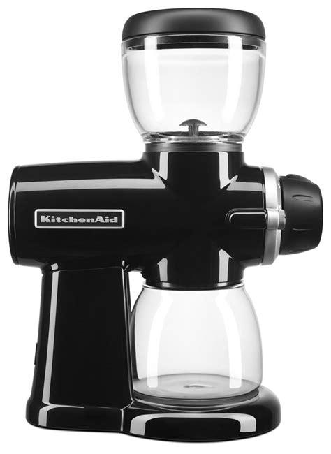 Kitchen Aid Grinder by Kitchenaid Kcg0702ob Burr Coffee Grinder Onyx Black