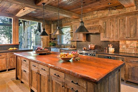 kitchen island made from reclaimed wood 20 gorgeous ways to add reclaimed wood to your kitchen