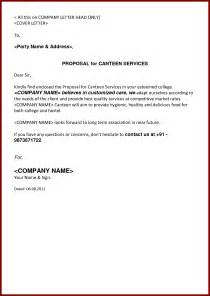 rfp cover letter sle cover letter for sales