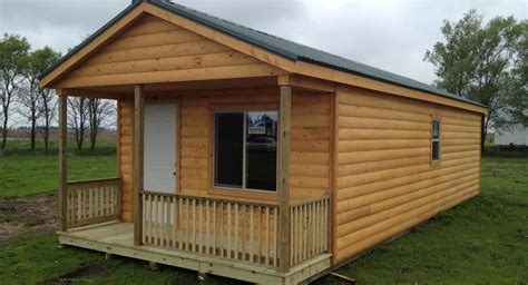 cabin quality storage buildings