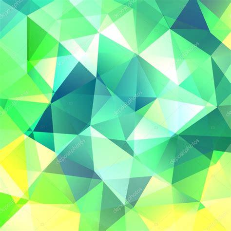 geometric pattern green green yellow geometric pattern triangles background