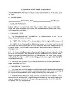 Purchasing Report Sample 3 Purchase Agreement Samplereport Template Document