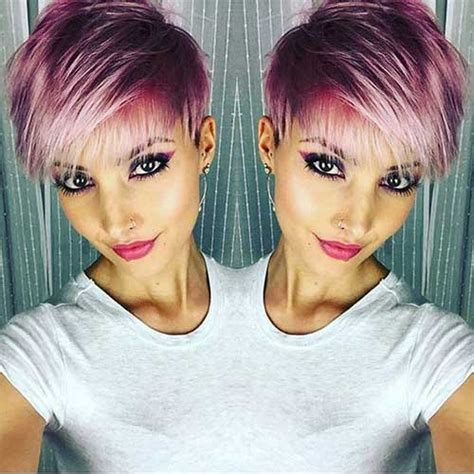hairstyles and colours for short hair most beloved 20 pixie haircuts short hairstyles 2017