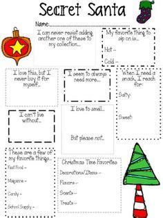 free download secret santa questionnaire just brennon secret santa questionnaire christmas ideas secret santa