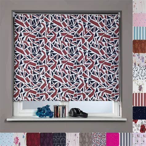 graphic pattern roller shades patterned blinds dubai furniture