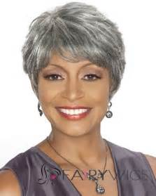 hairstyles for gray hair 60black short hair styles for african american women over 50