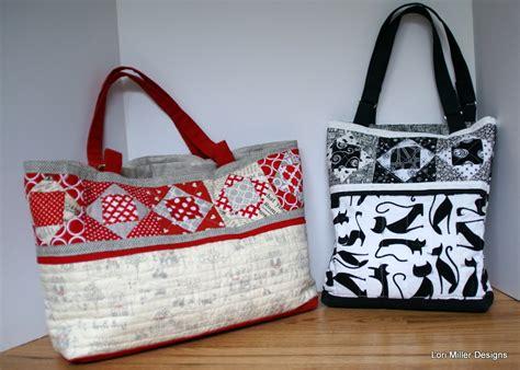 pattern tote bag new pattern cedar lake tote bag lori miller designs