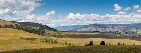Living In Yellowstone Yellowstone Landscape