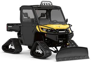 snow can can am atv and utv winter accessories atv