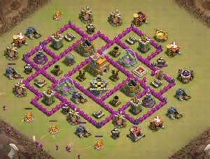 Best town hall 7 base layout town hall 7