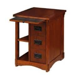 craftsman style side table