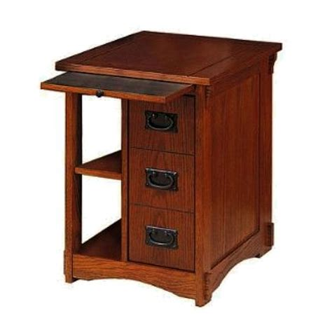mission style side table craftsman style side table