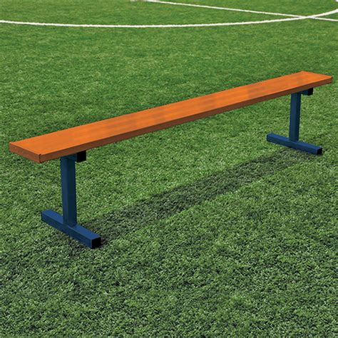 players bench locations 7 189 player bench w o seat back surface mount powder