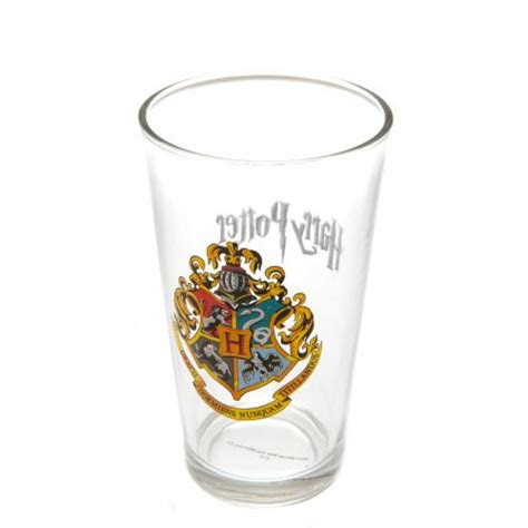 potters glass harry potter glassware official merchandise 2017 18