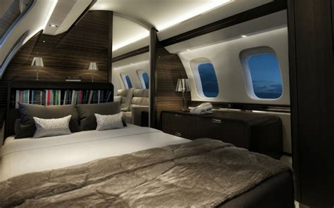 private plane bedroom 5 most luxurious private jets in the world