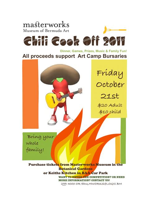 chili cook template free 12 best photos of chili fundraiser flyer templates chili
