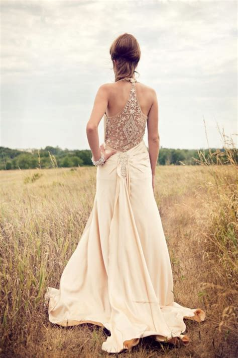 simple sleeveless country wedding dress sang maestro
