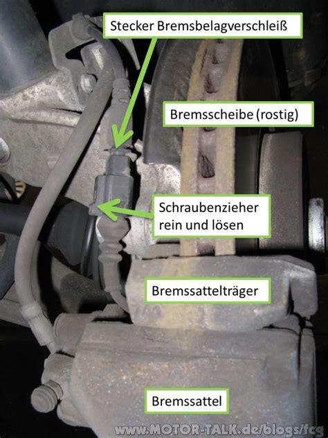 Motorrad Federbein Härter Einstellen by Bremsbelag Und Bremsscheibe Wechseln Passat 3c Fcg
