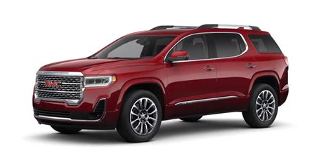 2020 Gmc Acadia Mpg by 2020 Gmc Acadia Denali Features Specs And Price Carbuzz