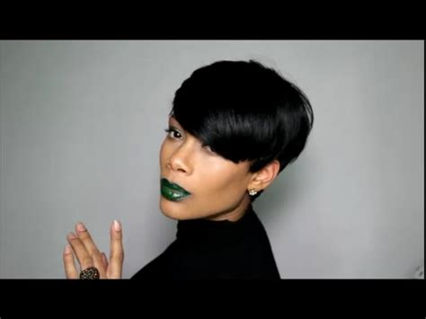 hairstyle fohawk with bump hairpiece fab fringe by sensationnel youtube