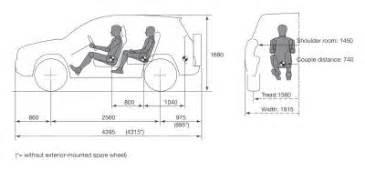 toyota rav4 interior dimensions