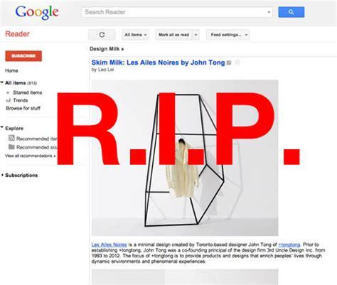 design google reader google reader alternatives for reading design milk