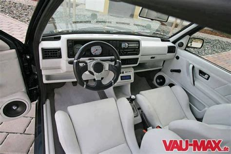 volkswagen caribe interior very nice mk2 golf interior perfect interior pinterest