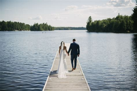 Jenny & Jason // Ridge at Manitou Muskoka Wedding