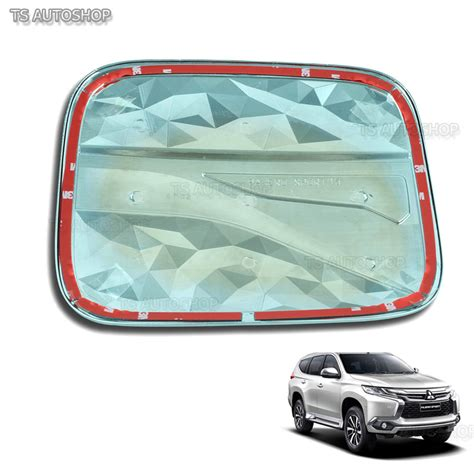 Tank Cover Grand Pajero 2016 fitt fuel cap tank door cover for mitsubishi montero pajero sport suv 2016 ebay