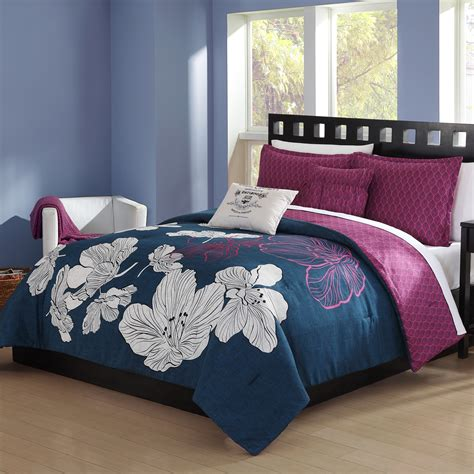 kmart full size comforters colormate 5 comforter set blooms home bed bath bedding comforters