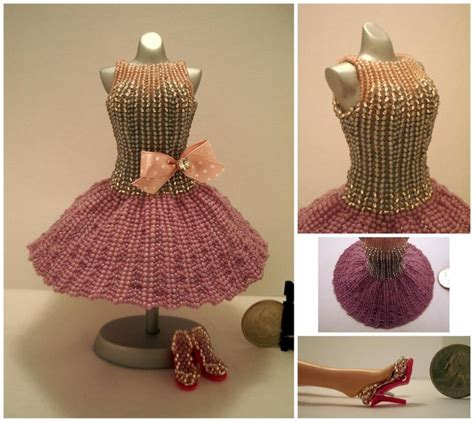 beading patterns for clothing 25 best miniature dresses images on bead