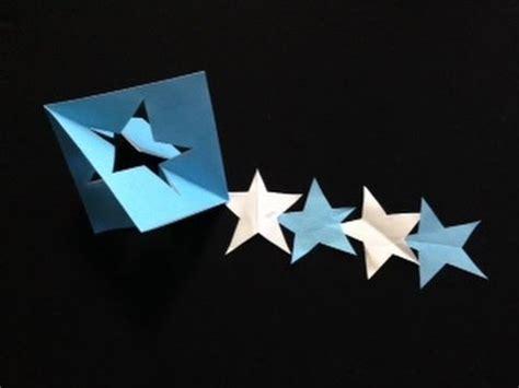Tanabata Origami - 七夕 飾り 星綴り 簡単 おりがみ tanabata origami
