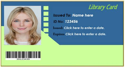 I Card Template Ms Office by How To Make Id Card In Ms Excel 6 Best Id Card Creator