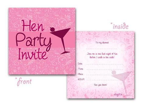 hen invitations activities ideas henit ie henit