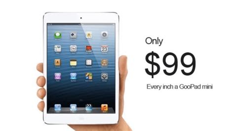 There's Already An iPad Mini Knock Off   Gizmodo Australia