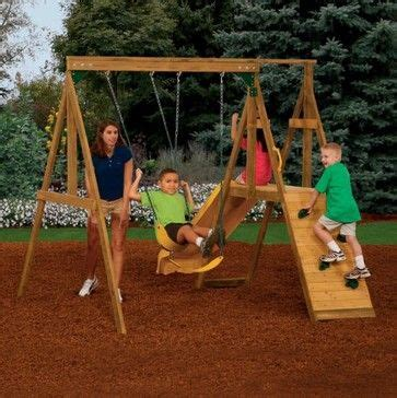 basic swing set simple homemade swing set with slide would use regular