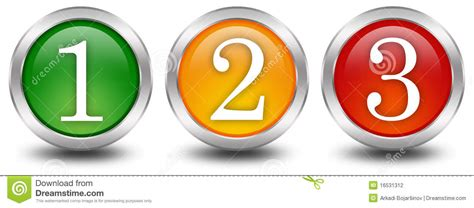 one three numbers 1 2 3 one two three stock illustration image 16531312