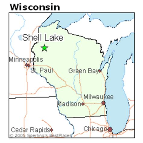 best places to live in shell lake wisconsin