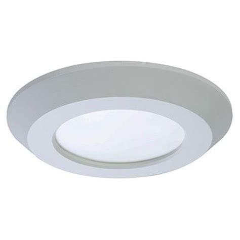 halo led disc light halo 4 quot matte white recessed led surface 3000k disk light