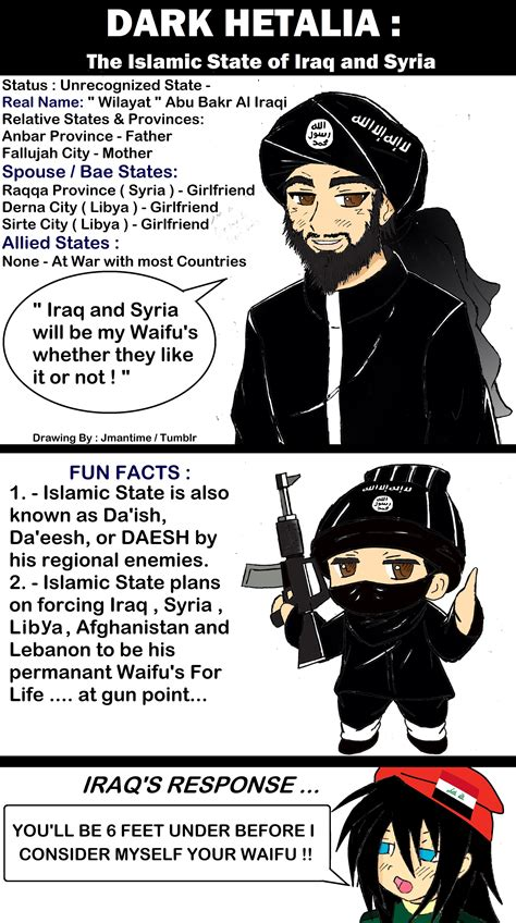 islamic state of iraq and the levant isis isil hetalia islamic state of iraq and the levant by jmantime